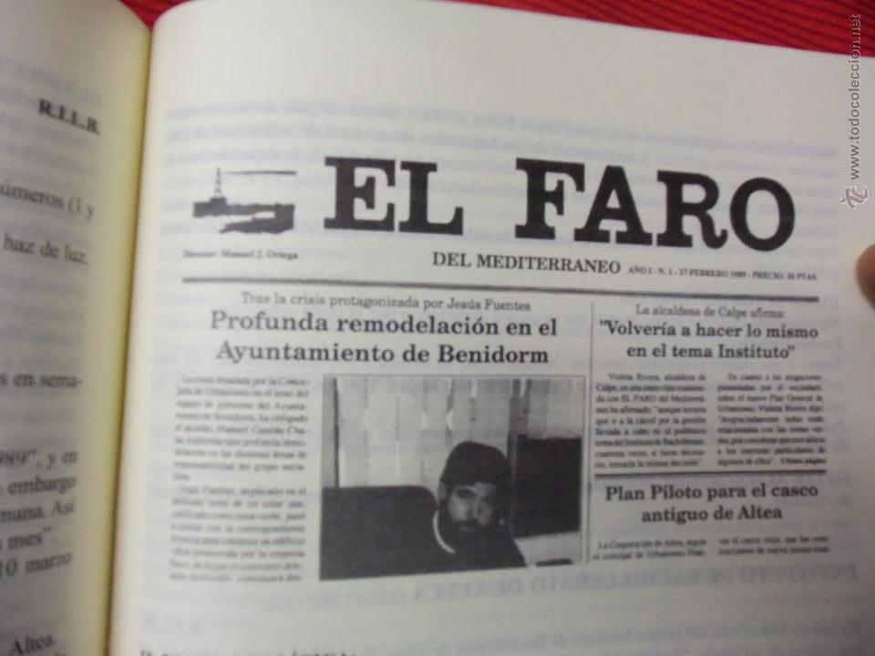 Libros de segunda mano: LA PRENSA EN LA MARINA BAIXA ( 1882-1999) - RAMÓN LLORÉNS BARBER Y CRISTINA LLORÉNS ESTARELLES - Foto 2 - 46737056