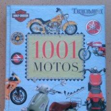Libros de segunda mano: LIBRO 1001 MOTOS, SERVILIBRO . Lote 46876978