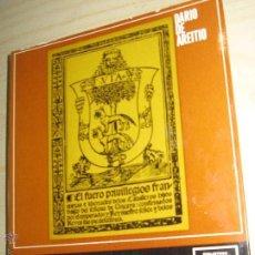 Libros de segunda mano: TEMAS HISTÓRICOS VASCOS Nº 6 DARÍO DE AREITIO EDITORIAL VILLAR AÑO 1969. Lote 46935185