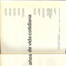 Libros de segunda mano: CIEN MIL AÑOS DE VIDA COTIDIANA. Lote 46938672