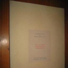 Libros de segunda mano: ADQUISICIONES DE BIENES CULTURALES. BELLAS ARTES. ARQUEOLOGÍA. ETNOGRAFÍA. MUSEO ARTES Y COSTUMBRES. Lote 46951739