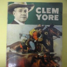 Libros de segunda mano: CLEM YORE Nº 36. FRONTERA DE TEXAS.. Lote 46979009