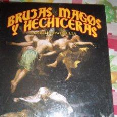 Libros de segunda mano: BRUJAS, MAGOS Y HECHICERAS - LA RELIGION OCULTA, POR JULIO GAUT VEL HARTMAN - CIRCULO LATINO - 2007. Lote 47007584