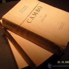 Libros de segunda mano: CAMBO. JESUS PABON.. Lote 7314767