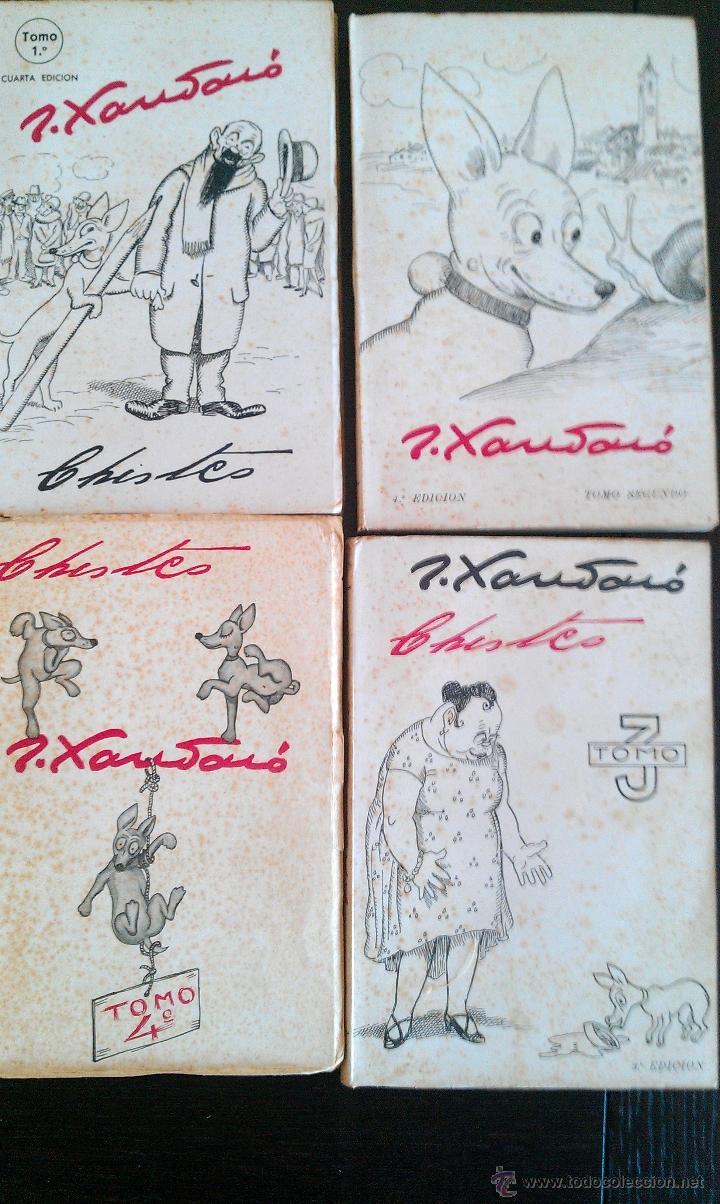 1945 CA. 4 TOMOS CHISTES DE JOAQUIN XAURADO (Libros de Segunda Mano - Bellas artes, ocio y coleccionismo - Otros)