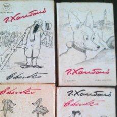 Libros de segunda mano: 1945 CA. 4 TOMOS CHISTES DE JOAQUIN XAURADO. Lote 47020925