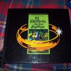 Libros de segunda mano: EL SEÑOR DE LOS ANILLOS( LIBRO DE LA PELÍCULA DE JR.R.TOLKIEN).ED.HMB.1980.EXTRAORDINARIO EJEMPLAR.. Lote 47028200