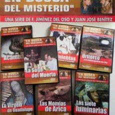 Libros de segunda mano: EN BUSCA DEL MISTERIO DVDS DOCUMENTALES JIMÉNEZ OSO JJ BENÍTEZ DVD URITORCO MOMIA ACÁMBARO -NO LIBRO. Lote 47033009