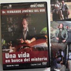 Livros em segunda mão: DVD FERNANDO JIMÉNEZ DEL OSO UNA VIDA EN BUSCA MISTERIO DOCUMENTAL DETRÁS D CÁMARAS ENIGMAS NO LIBRO. Lote 47033256