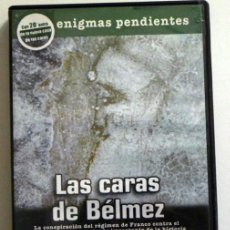 Libros de segunda mano: DVD LAS CARAS DE BÉLMEZ - DOCUMENTAL MISTERIO ENIGMAS PENDIENTES - EXTRA LA NUEVA CASA - NO ES LIBRO. Lote 47050651