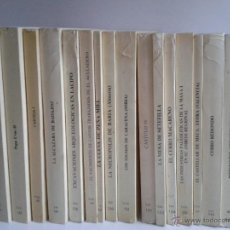 Libros de segunda mano: EXCAVACIONES ARQUEOLÓGICAS EN ESPAÑA, 16 VOLÚMENES. VARIOS AUTORES.. Lote 47074209
