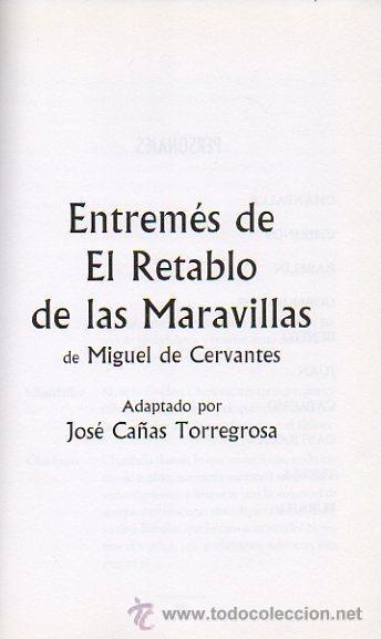 Libros de segunda mano: DE PASOS Y ENTREMESES. L.DE RUEDA, CERVANTES, HNOS A.QUINTERO. OBRA DE TEATRO. ED.EVEREST, 2005 - Foto 2 - 47109086