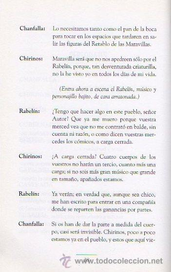 Libros de segunda mano: DE PASOS Y ENTREMESES. L.DE RUEDA, CERVANTES, HNOS A.QUINTERO. OBRA DE TEATRO. ED.EVEREST, 2005 - Foto 5 - 47109086