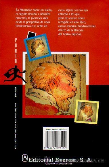 Libros de segunda mano: DE PASOS Y ENTREMESES. L.DE RUEDA, CERVANTES, HNOS A.QUINTERO. OBRA DE TEATRO. ED.EVEREST, 2005 - Foto 6 - 47109086