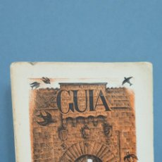 Libros de segunda mano: GUIA DESCRIPTIVA DEL REAL MONASTERIO CISTERCIENSE DE POBLET. 1953. ILUSTRADO. Lote 47140312