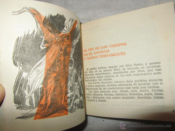 Libros de segunda mano: EL AÑO 2000 SEGUN LAS PROFECIAS LIBRO DE JOAQUIN GRAU 1962 - Foto 3 - 47152498