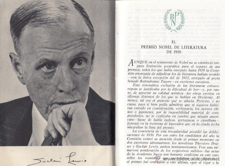 Libros de segunda mano: SINCLAIR LEWIS NOVELAS ESCOGIDAS AGUILAR 1957 1ª EDICIÓN * CALLE MAYOR BABBITT EL DOCTOR ARROWSMITH - Foto 3 - 47164123