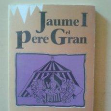 Libros de segunda mano: JAUME I, PERE EL GRAN - FERRAN SOLDEVILA - EDITORIAL VICENS VIVES 1991. Lote 47210847