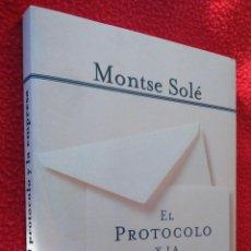 Libros de segunda mano: EL PROTOCOLO Y LA EMPRESA - MONTSE SOLE. Lote 47242880