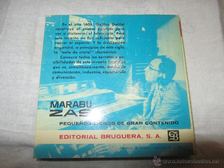 Libros de segunda mano: LA TELEVISION, LIBRO DE FEDOR YORLOV, 1963, EDITORIAL BRUGUERA - Foto 2 - 47243745