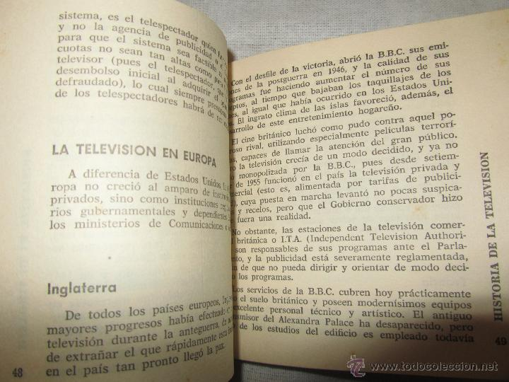Libros de segunda mano: LA TELEVISION, LIBRO DE FEDOR YORLOV, 1963, EDITORIAL BRUGUERA - Foto 3 - 47243745