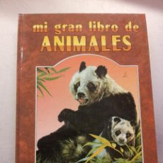 Libros de segunda mano: MI GRAN LIBRO DE ANIMALES SUSAETA EDICIONES 1990. Lote 47270397