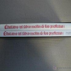 Libros de segunda mano: EL BALADRO DEL SABIO MERLIN.. Lote 292595738