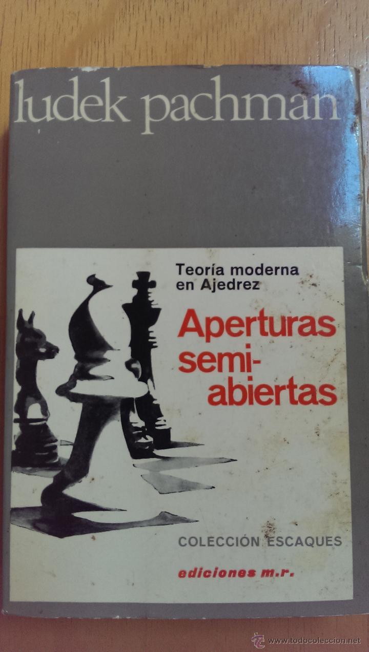 APERTURAS SEMIABIERTAS Nº 12 LUDEK PACHMAN EDITORIAL MARTÍNEZ ROCA AÑO 1976 (Libros de Segunda Mano - Ciencias, Manuales y Oficios - Otros)