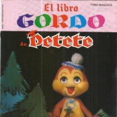 Libros de segunda mano: EL LIBRO GORDO DE PETETE. EDITORIAL P.T.T. MADRID. 1982. Lote 47359103