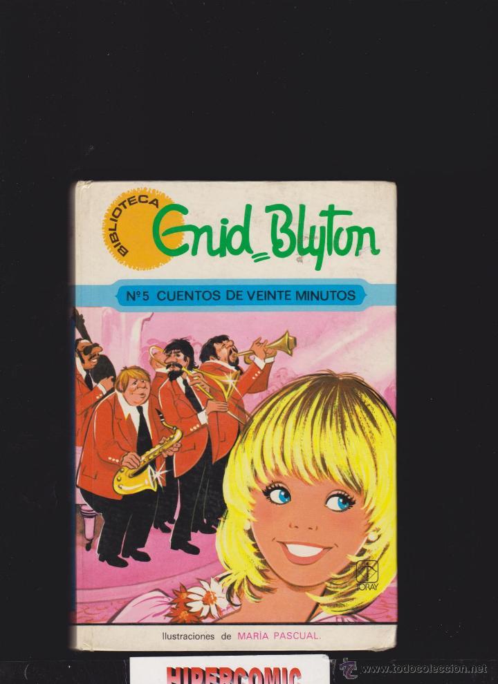 CUENTOS DE VEINTE MINUTOS Nº 5 / ENID BLYTON - ILUSTRACIONES: MARIA PASCUAL (Libros de Segunda Mano - Literatura Infantil y Juvenil - Otros)