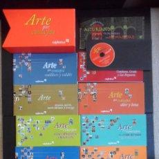 Libros de segunda mano: ARTE POR CONCEJOS. ASTURIAS. ESTUCHE CON 11 LIBRITOS. CAJASTUR, 2000. ILUSTRACIONES Y FOTOGRAFIAS.. Lote 47362720