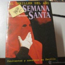 Libros de segunda mano: SEMANA SANTADAVID HEWSON3,00. Lote 47394470