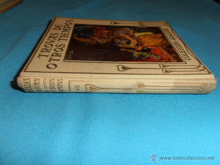 Libros de segunda mano: TROVAS DE OTROS TIEMPOS, COLECCION ARALUCE, Nº 48 - Foto 2 - 47418818
