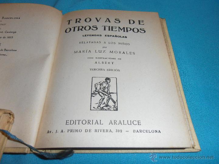 Libros de segunda mano: TROVAS DE OTROS TIEMPOS, COLECCION ARALUCE, Nº 48 - Foto 5 - 47418818