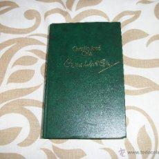Libros de segunda mano: CAMILO JOSÉ CELA.. Lote 47484949
