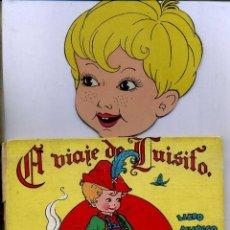 Libros de segunda mano: EL VIAJE DE LUISITO LIBRO MUÑECO (MOLINO, 1944) ILUSTRADO POR PILI BLASCO. Lote 47507418