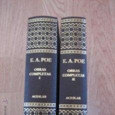 Libros de segunda mano: POE OBRAS COMPLETAS AGUILAR. Lote 60433086