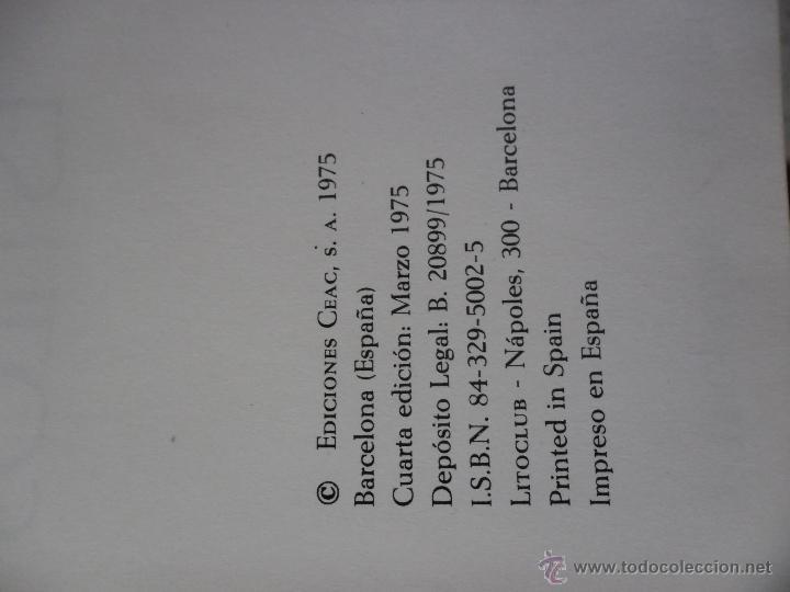 Libros de segunda mano: HISTORIA DE LOS ESTILOS - EDICIONES CEAC - 1975 - Foto 5 - 47425132