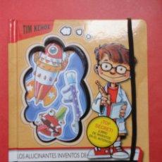 Libros de segunda mano: LOS ALUCINANTES INVENTOS DE VINCENT SHADOW. Lote 47602636