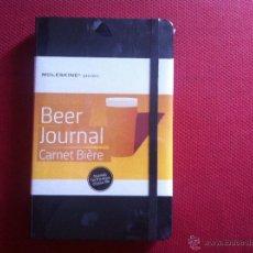 Libros de segunda mano: MOLESKINE-BEER JOURNAL CART BIERE-PRECINTADO. Lote 47636635