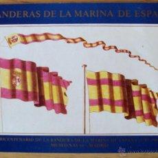 Libros de segunda mano: ARMADA ESPAÑOLA. LIBRITO LAS BANDERAS DE LA MARINA DE GUERRA. Lote 113355326