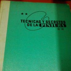 Libros de segunda mano: TECNICAS Y SECRETOS DE LA PINTURA. Lote 47710330