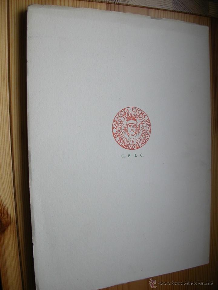 Libros de segunda mano: Seminario de arte aragonés nº IV.Institución Fernando el Catolico.1952 - Foto 2 - 47715453