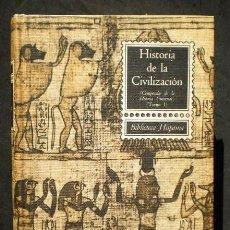 Libros de segunda mano: RICARDO VERA TORNELL: HISTORIA DE LA CIVILIZACIÓN, TOMO 1, ED. RAMÓN SOPENA, 1964. Lote 47754078