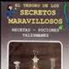Libros de segunda mano: EL TESORO DE LOS SECRETOS MARAVILLOSOS, MINI VISION, . Lote 47774968