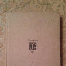 Libros de segunda mano: LA COSMOVISION ISABELINA-BREVIARIOS 375-TILLYARD-FONDO DE CULTURA ECONOMICA. Lote 47809258