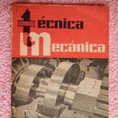 Libros de segunda mano: TÉCNICA MECÁNICA 22 EDICIONES CEAC 1960 MECÁNICA MOTOR Y AUTOMOVILES. Lote 47811368