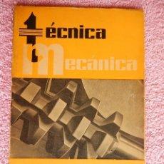 Libros de segunda mano: TÉCNICA MECÁNICA 26 EDICIONES CEAC 1961 MECÁNICA MOTOR Y AUTOMOVILES. Lote 47811448