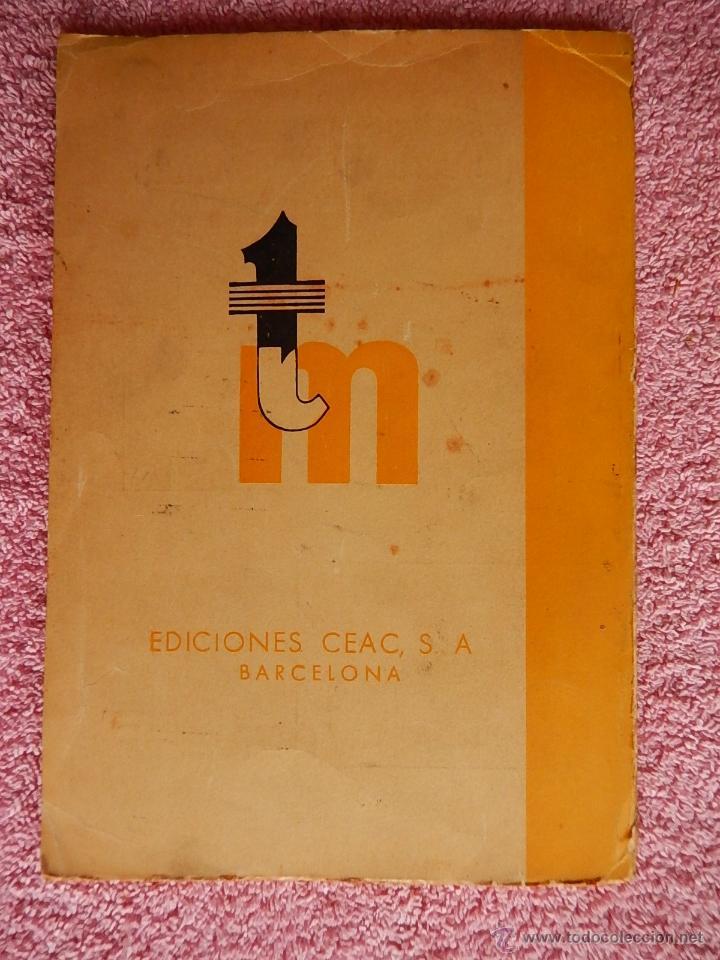 Libros de segunda mano: técnica mecánica 26 ediciones ceac 1961 mecánica motor y automoviles - Foto 6 - 47811448