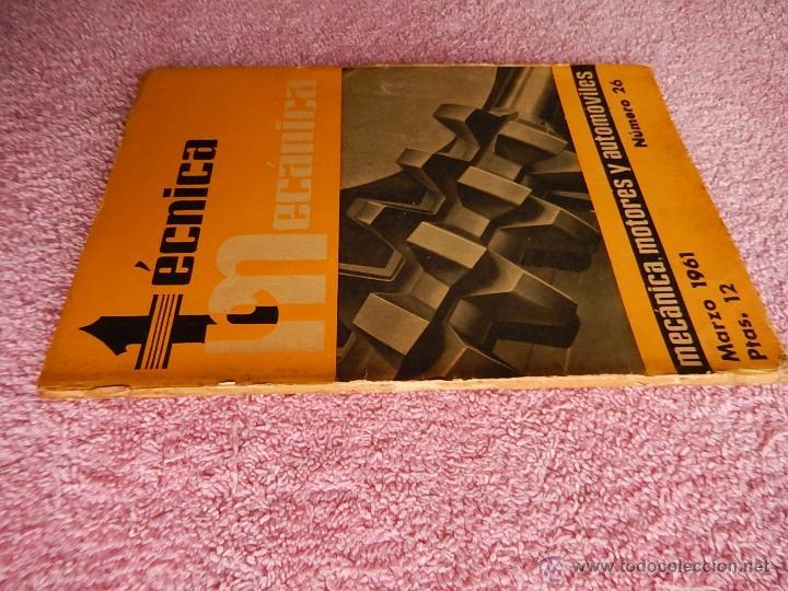 Libros de segunda mano: técnica mecánica 26 ediciones ceac 1961 mecánica motor y automoviles - Foto 7 - 47811448